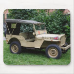 Willys MB Jeep Mousepad