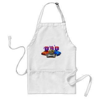 willys number 1 dad adult apron
