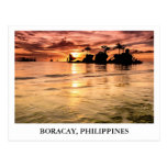 Willy's Rock in Boracay, Philippines Postcard