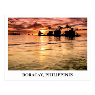 Willy's Rock in Boracay, Philippines Postcards