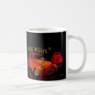 Willys salvaje tazas de café