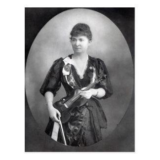 Wilma Norma Neruda, señora Halle Tarjeta Postal