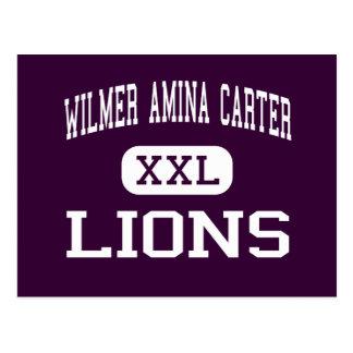 Wilmer Amina Carter - Lions - High - Rialto Postcard
