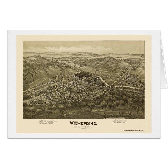 Wilmerding, PA Panoramic Map - 1897 Card