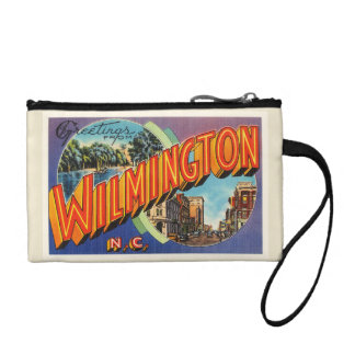 Wilmington #2 North Carolina NC Vintage Postcard- Change Purse