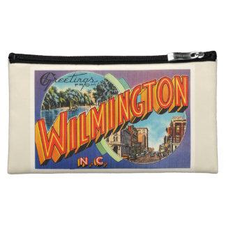 Wilmington #2 North Carolina NC Vintage Postcard- Cosmetic Bag