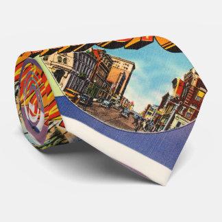 Wilmington #2 North Carolina NC Vintage Postcard- Neck Tie