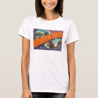Wilmington #2 North Carolina NC Vintage Postcard- T-Shirt