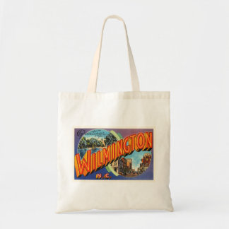 Wilmington #2 North Carolina NC Vintage Postcard- Tote Bag