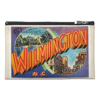 Wilmington #2 North Carolina NC Vintage Postcard- Travel Accessory Bag