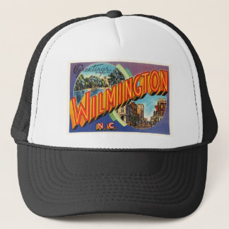 Wilmington #2 North Carolina NC Vintage Postcard- Trucker Hat
