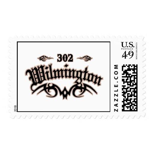 Wilmington 302 stamp