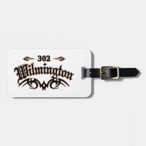 Wilmington 302 travel bag tags