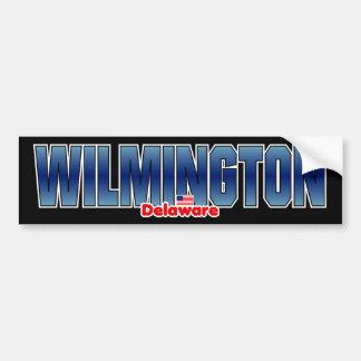 Wilmington Bumper Car Bumper Sticker