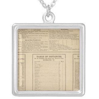 Wilmington business directory square pendant necklace