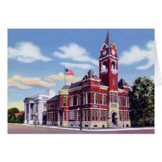 Wilmington Carolina del Norte el condado de Hanove Tarjeta De Felicitación