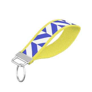 Wilmington Chevron Wristband Keychain