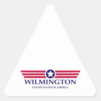 Wilmington DE Pride Triangle Sticker