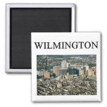 WILMINGTON delaware 2 Inch Square Magnet
