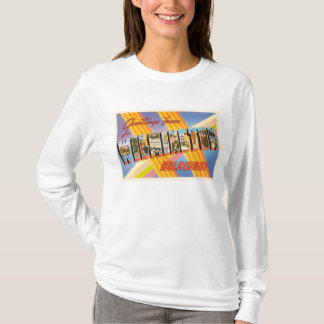 Wilmington Delaware DE Old Vintage Travel Postcard T-Shirt
