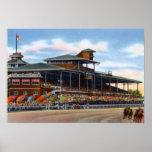 Wilmington Delaware Delaware Park Race Track Print