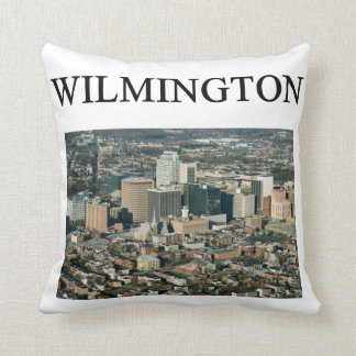 wilmington delaware gifts presents throw pillow