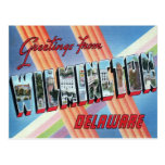 Wilmington, Delaware LARGE LETTER Postcard