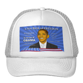 Wilmington Delaware Obama Inauguration Event Hat