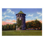 Wilmington Delaware Rockford Park Water Tower Poster