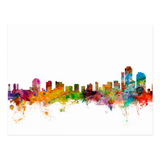 Wilmington Delaware Skyline Postcard