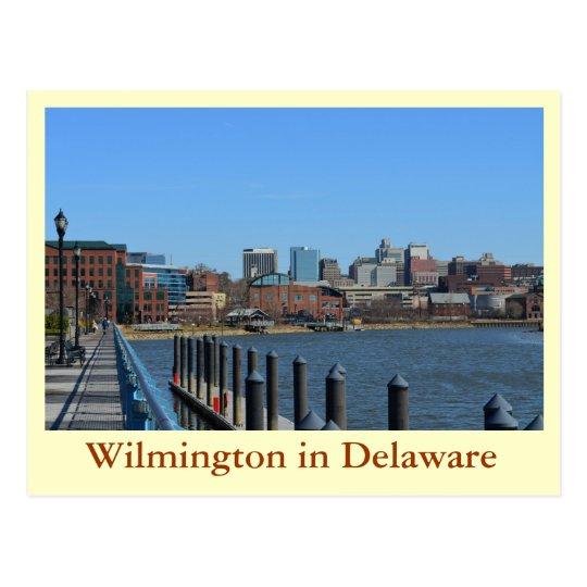 Wilmington in Delaware Postcard