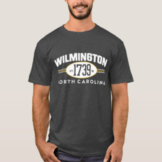 WILMINGTON NC 1739 CITY INCORPORATED TEE