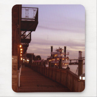 Wilmington NC, Cape Fear River Sunset Mouse Pad