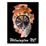 wilmington nc mini planet postcard
