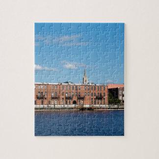 Wilmington NC Riverfront Jigsaw Puzzle