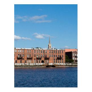 Wilmington NC Riverfront Postcard