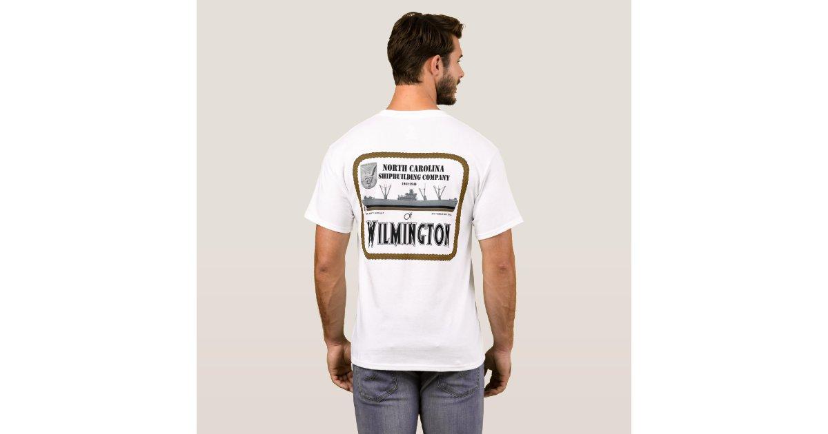 wilmington nc t shirt zazzle