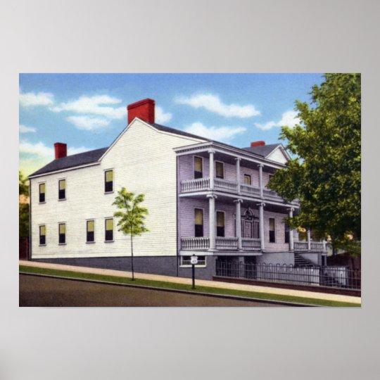 Wilmington North Carolina Cornwallis Headquarters Poster