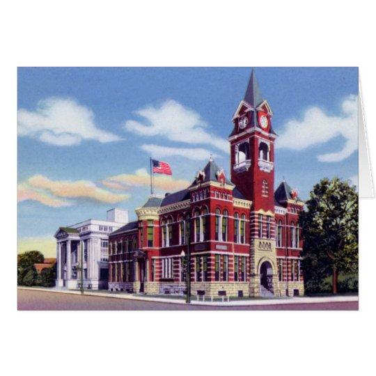 Wilmington North Carolina Hanover County Courthous Card