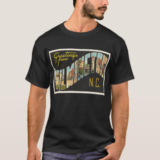 Wilmington North Carolina NC Old Vintage Postcard- T-Shirt