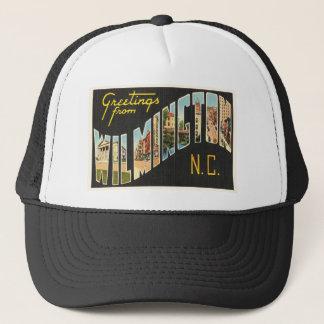 Wilmington North Carolina NC Old Vintage Postcard- Trucker Hat