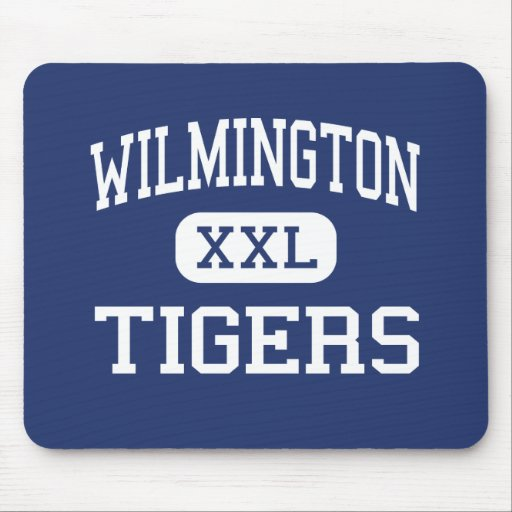 Wilmington - Tigers - High - Wilmington Vermont Mouse Pads