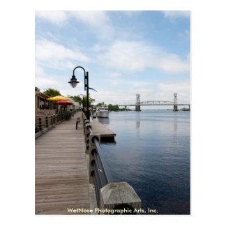 Wilmington WaterFront Postcard
