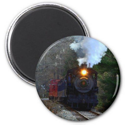 Wilmington/Western Railroad Refrigerator Magnet
