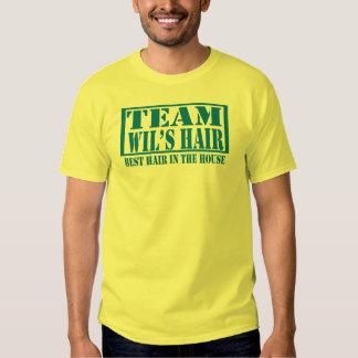 Wil's Hair Tee Shirt
