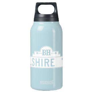 Wilshire Boulevard, Los Angeles, CA Street Sign Insulated Water Bottle