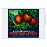 Wilshire's Oak Glen Apple Crate Label