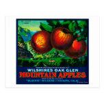 Wilshire's Oak Glen Apple Crate Label Post Card