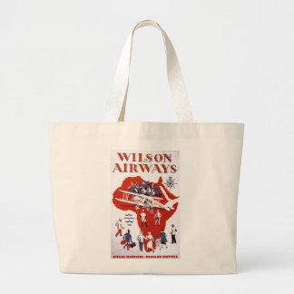 Wilson Airways ~ Africa Jumbo Tote Bag