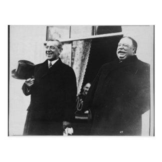 Wilson and Taft Postcard